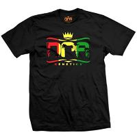 DNA Genetics Rasta Logo T-Shirt