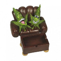 Cannabuds Stash Chair Ashtray Double Chair