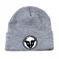 Rare Dankness Logo Beanie Hat - Black/Grey