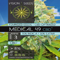 Vision Seeds Medical 49 CBD+ Feminized