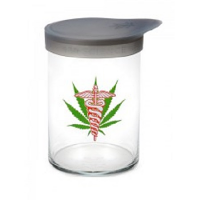 420 Soft Top Jar Medical Leaf