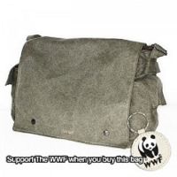 WWF Sativa Hemp Postman Bag