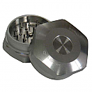 Quick Herb Grinder in Silver