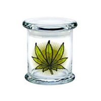 420 Classic Jar Green Leaves