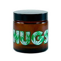 420 Nugs Amber Screw Top Jar