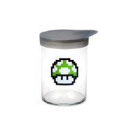 420 Soft Top Jar 1 up Mushroom